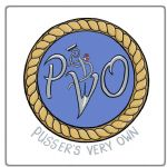 PVO Badged Coaster.